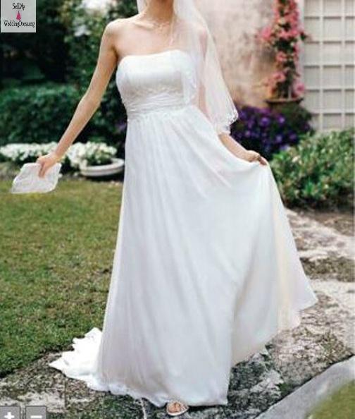 United States Beautiful Davids Bridal Gown Sizes 6