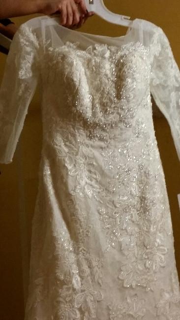 Georgia : Olga Cassini 3/4 sleeve Gown : Sizes 2 - 4