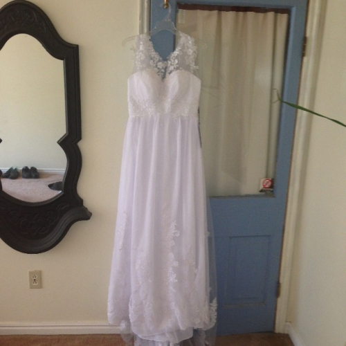 Utah Brand New Wedding Dress Never Worn Sizes 6 8