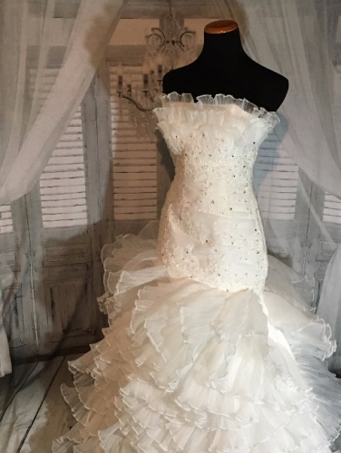 New Wedding Gown Showstopper!