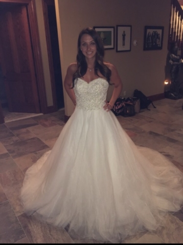 Matthew Christopher Ball Gown