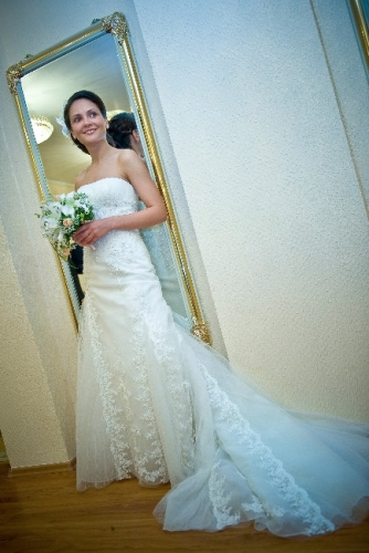 Stunning Wedding Gown by Pronovias