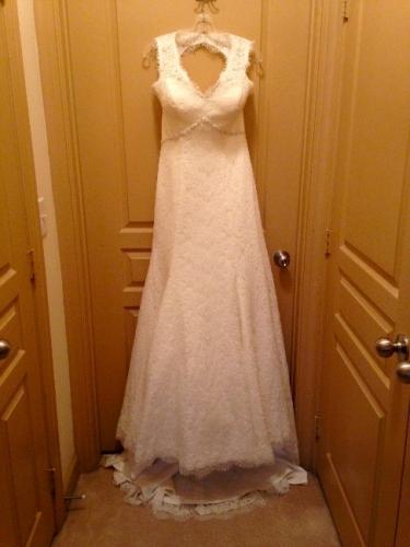 Georgia Never Worn All Lace Wedding Dress Sizes 6 8