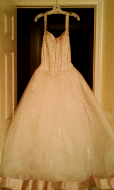 Beautiful Beaded Gown, never been worn!