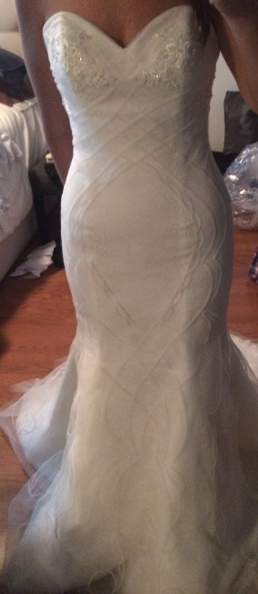 New york brand new ines di santo dress sizes 10 12 for Sell wedding dress nyc