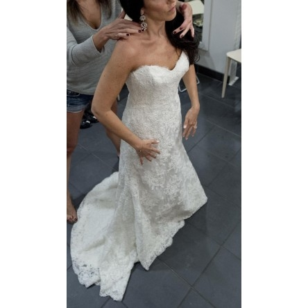 New york wedding dress perfect condition sizes 6 8 for Sell wedding dress nyc