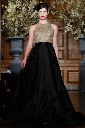 Stunning Romona Keveza Evening Gown