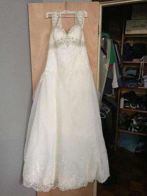 Texas David S Bridal Jewel Ballroom Ivory Sizes 12